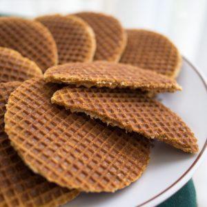 Tastefull syrup waffles header